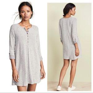 NWT Z Supply Soft Marled Henley Dress